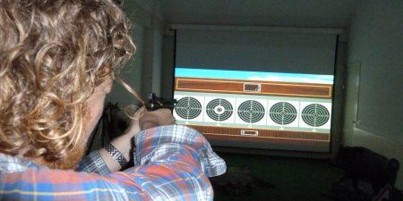 Schietsimulator Nederland Evenement Teamuitje Jagers Jacht Schieten Wild Wildseizoen